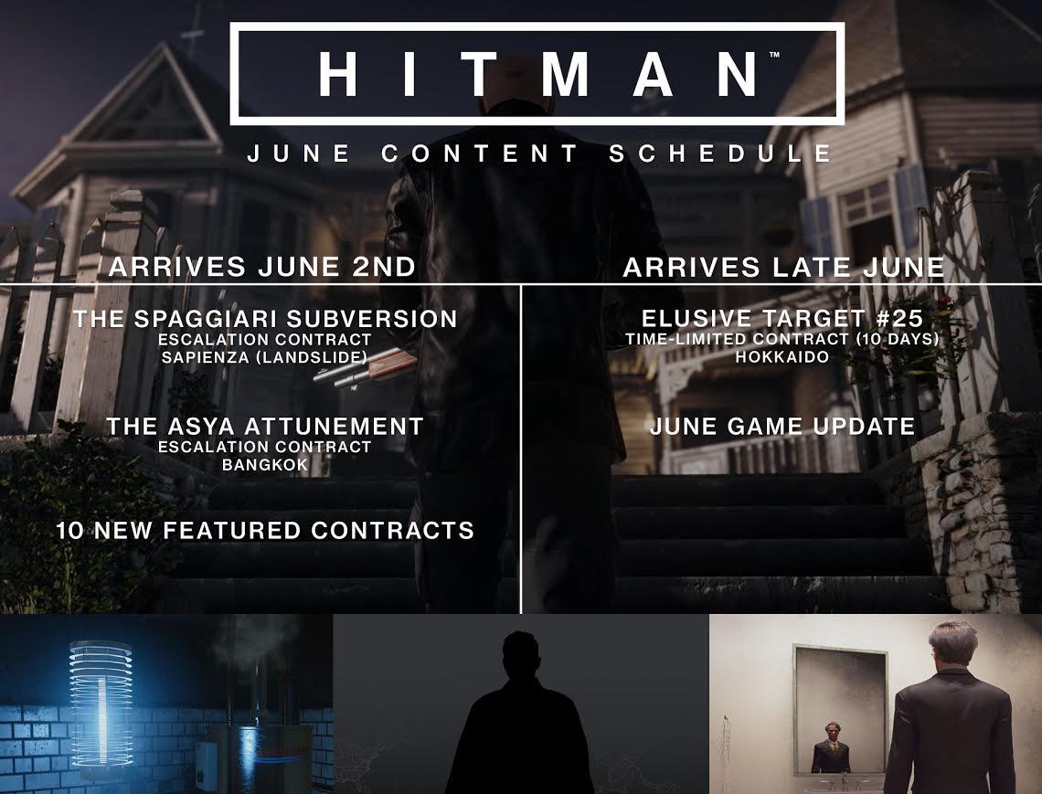 Hitman concreta todas sus novedades para junio