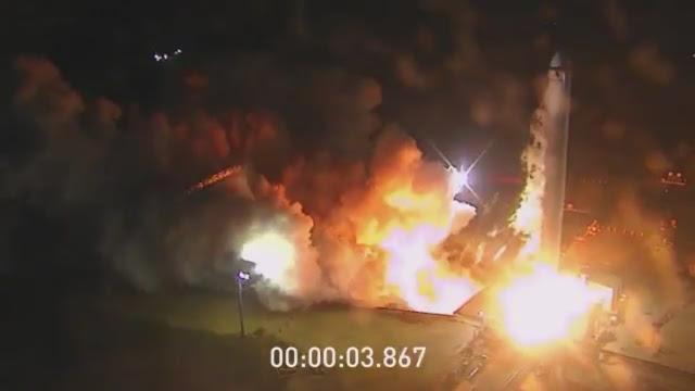 Испытания Falcon Heavy