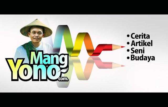 Desain karya Mang Mehong untuk Blog Mang Yono. Dan saya gunakan untuk tampilan logo kepala Blog Mang Yono