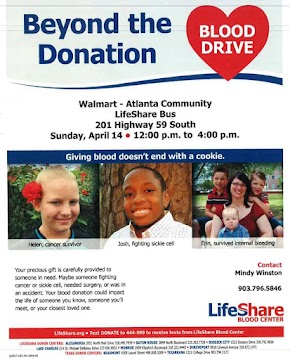 With reserve blood supplies low, Lifeshare hosts blood drive at Atlanta Walmart