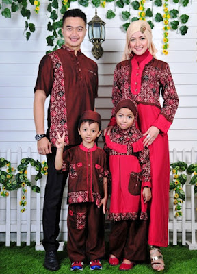 Contoh Model baju keluarga