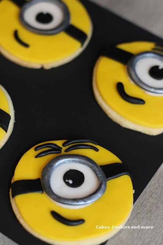 Schritt Für Schritt Anleitung Für Minions Cookies Cakes
