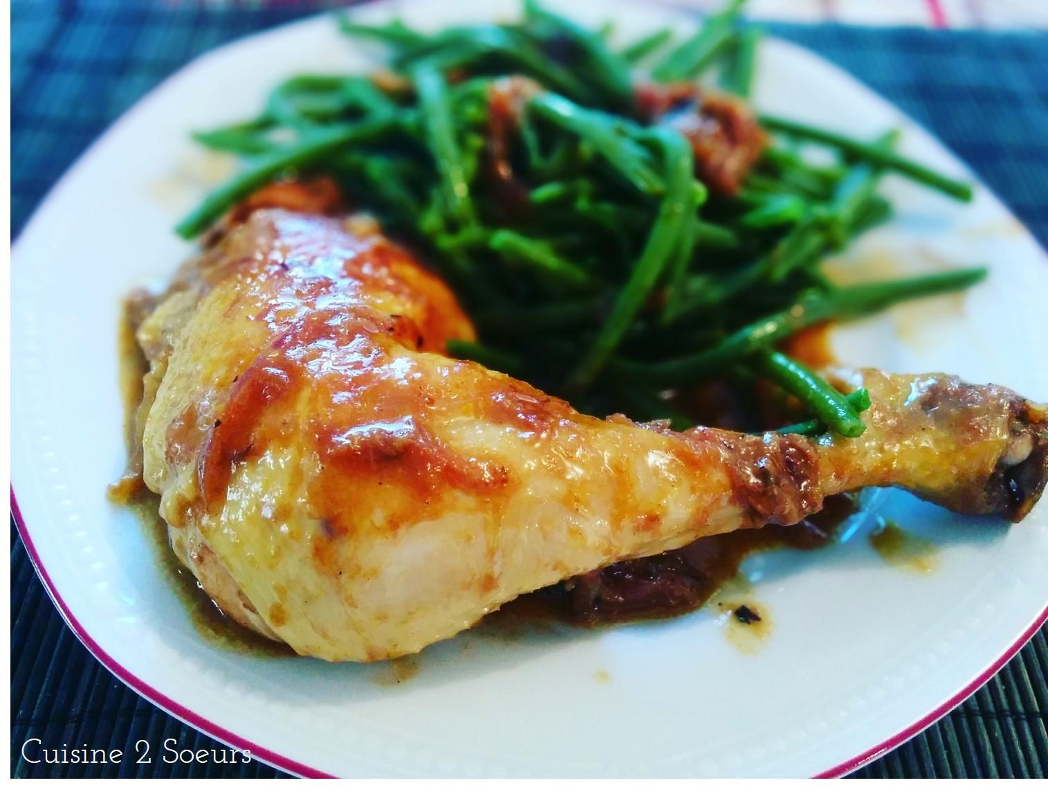 Cuisine 2 soeurs cuisse de poulet au curry vert - Cuisine thai poulet curry vert ...