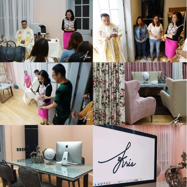 Kris Aquino Shares Her New Glamorous Office For The First Time! Must See! Seen by Jr., Herzel