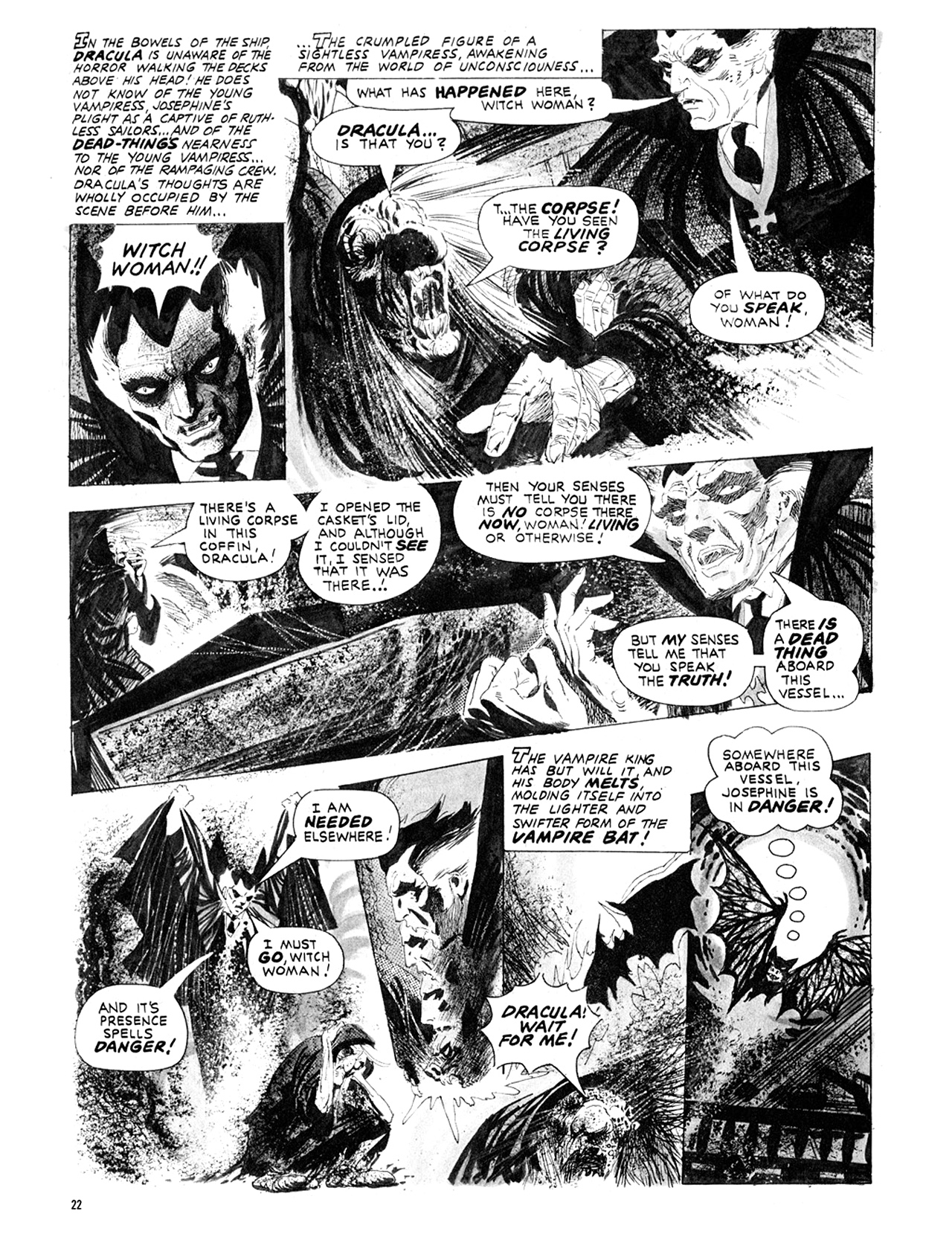 Read online Eerie Archives comic -  Issue # TPB 10 - 23