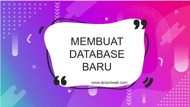 Cara Membuat Database Xampp Dengan Cmd Command Prompt Ansori Web