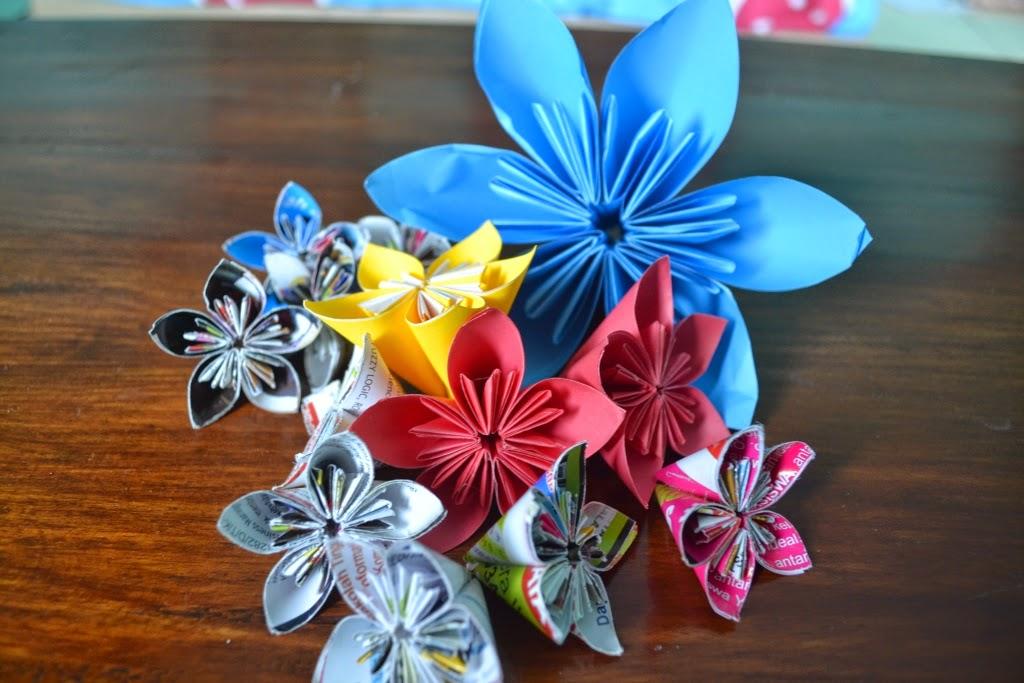 Kusudama Flower Origami Tutorial Look At Me