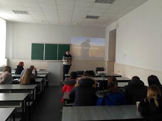 Презентація кар'єрних можливостей в компанії САН ІнБев Україна