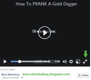 Getting Facebook Video Link