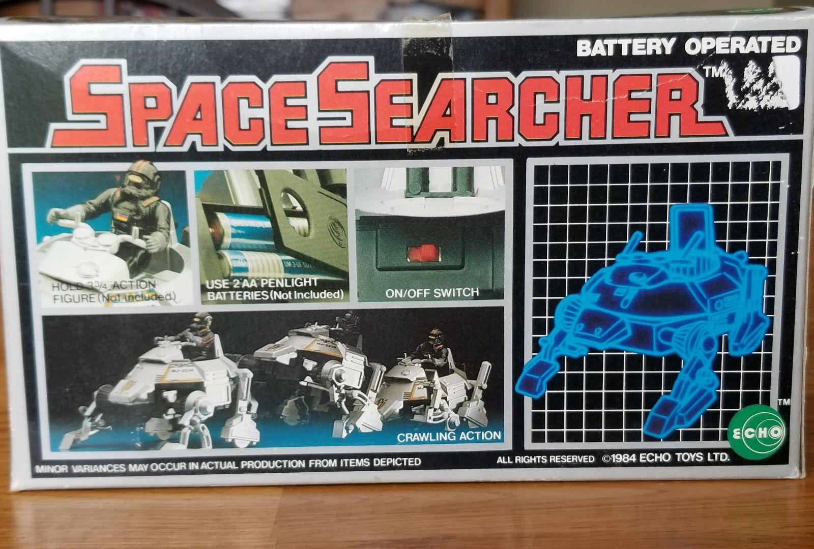 MOONBASE CENTRAL: ECHO SPACE WALKER SEARCHER: A STAR WARS CUCKOO