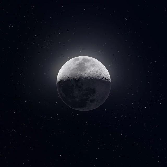 """Il """"ritratto"""" più sorprendente della Luna: 50.000 foto e 81 megapixel per catturare il suo """"volto"""" migliore"""
