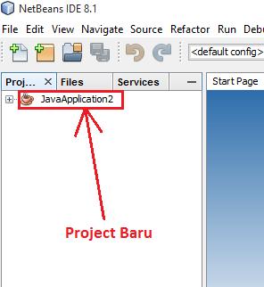 6 - Tutorial 1 Pemrograman Java Netbeans – Cara membuat Project Baru