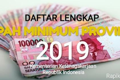 Daftar Lengkap UMP 2019 se-Indonesia: Ibukota (masih) Pemuncak