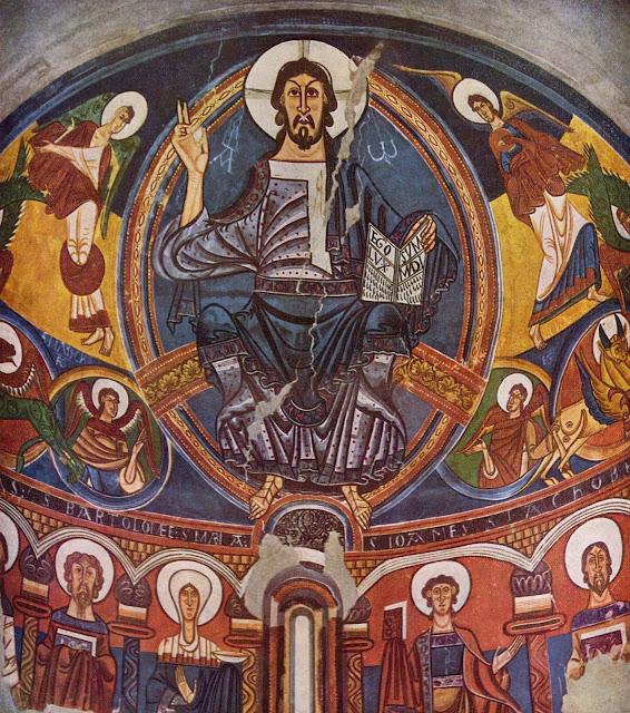 Desconocido - Pantocrator, Abside de Sant Climent de Taüll - ca. 1123