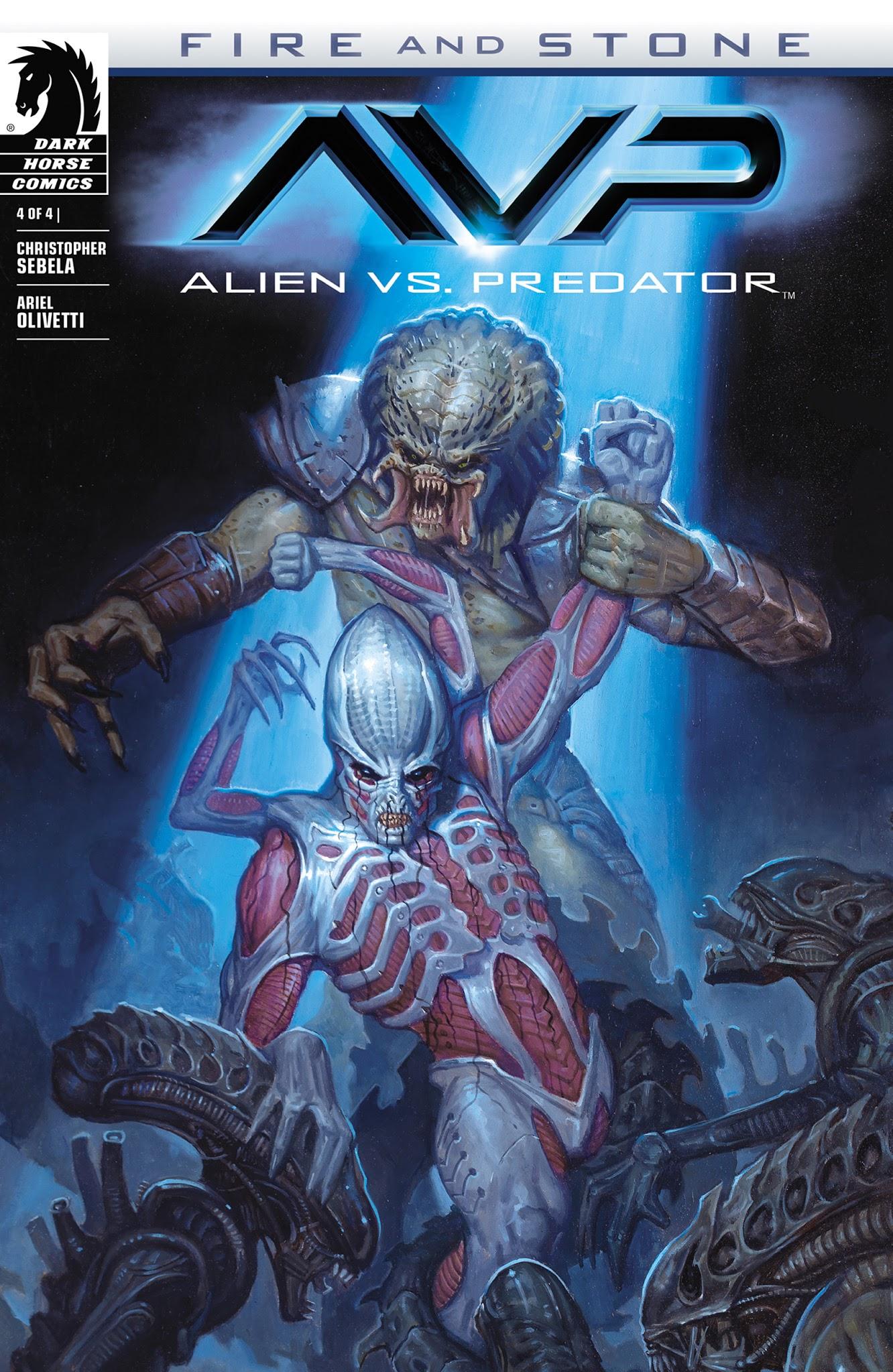 Alien vs. Predator: Fire and Stone 4 Page 1