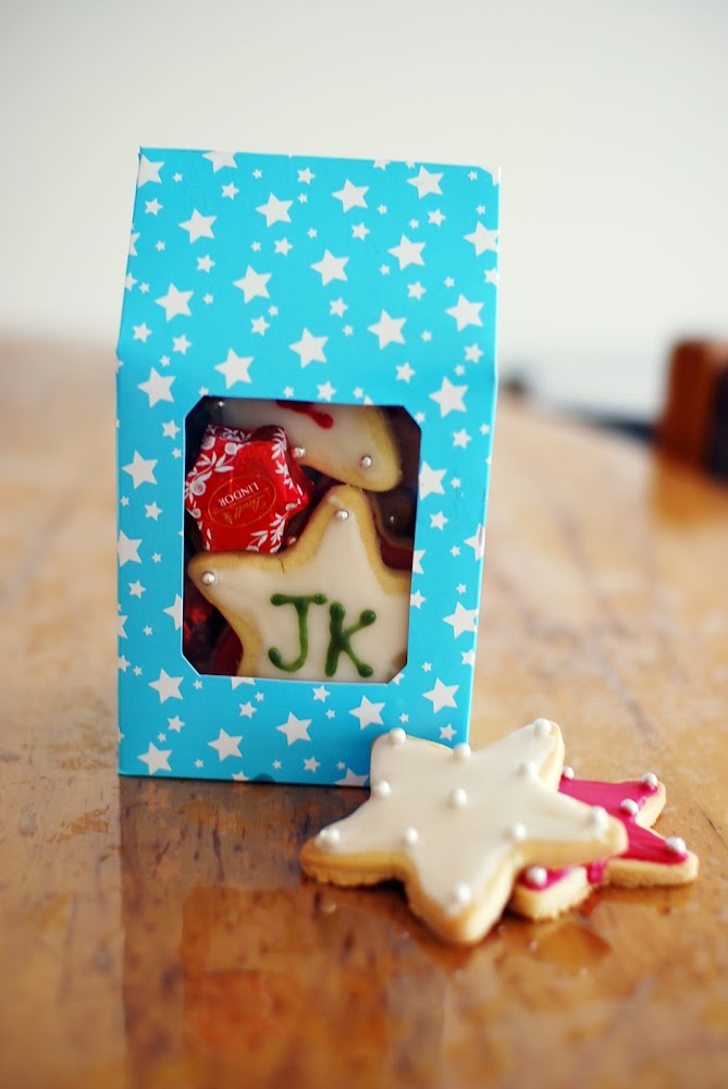 Christmas Recipe Dessert Biscuits Cookies Gift Bag