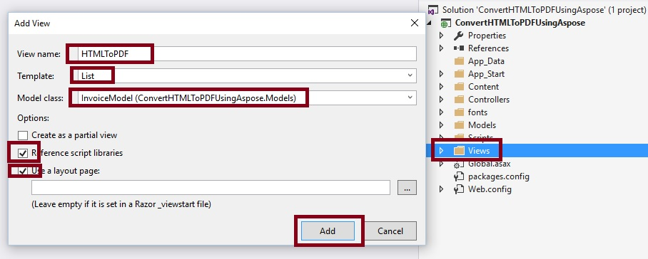 HTML To PDF Using Aspose Pdf API
