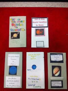 Mrs Thomas 5th Grade Class Planet Brochure Project