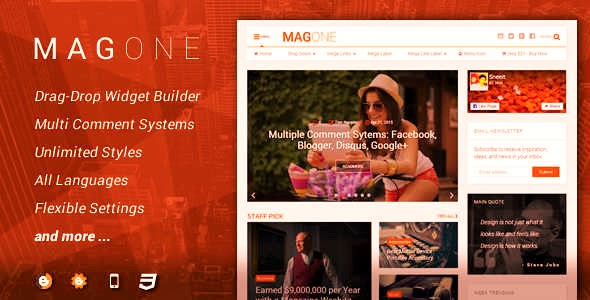 Free Download Magone v6.1.2 Premium Template