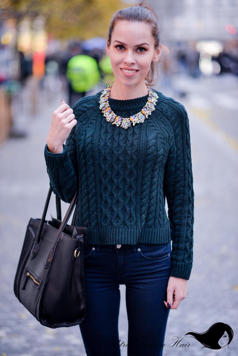 1bfc72202b 2 x OOTD - zelená a modrá pro blázna dobrá ! + focení Blogerek roku ...