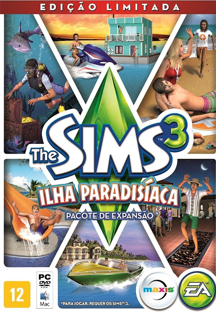 download the sims 3 ilha paradis aca compactado serial. Black Bedroom Furniture Sets. Home Design Ideas