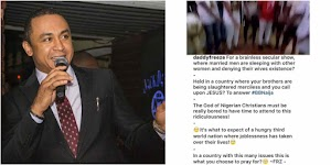 #BBNaija: OAP Freeze comes for BBNaija; says God must be bored to attend to brainless prayers from their fans