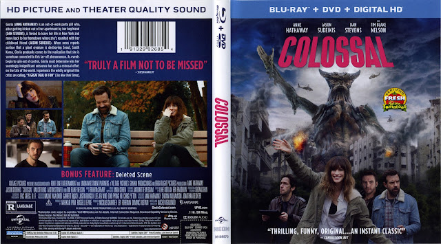 Colossal Bluray Cover