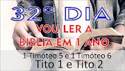 32º DIA VOU LER A BÍBLIA EM 1 ANO