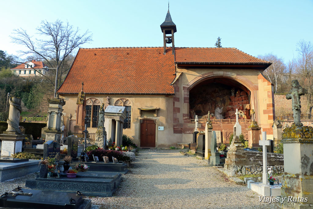 Cementerio y ermita de Obernai, Alsacia
