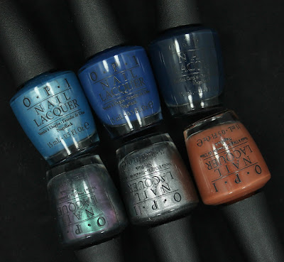 Part III: OPI Fall 2013 San Francisco Collection - The Blues