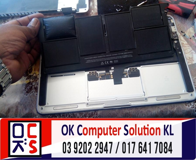 [SOLVED] BATERI MAC AIR A1370 ROSAK | REPAIR MAC DESA PANDAN 2