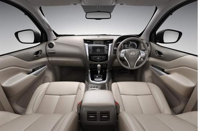 2016 Nissan Navara Interior Design