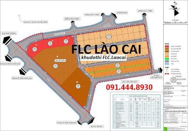 Dự án Flc Lào Cai biệt thự liền kề shophouse đất nền mở bán