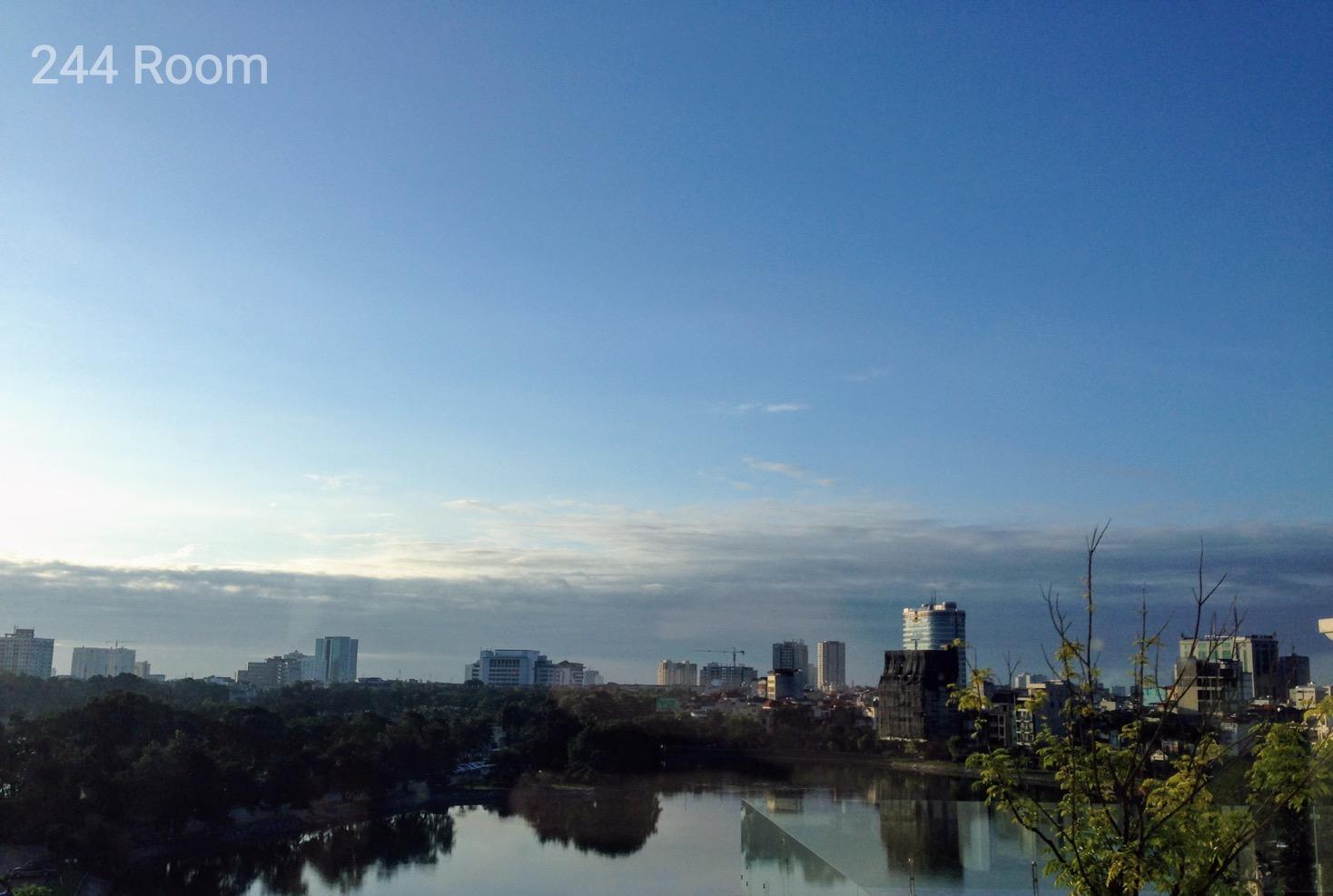 Hanoi lake side
