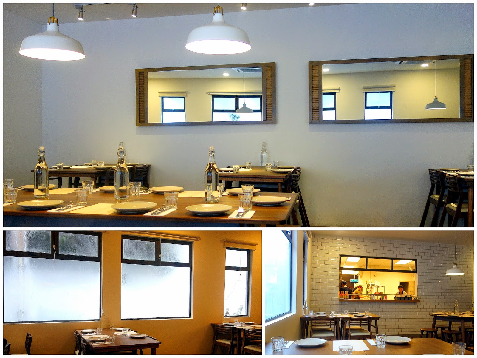 Eat Drink KL: Dinner Menu @ The Kitchen Table Restaurant ...
