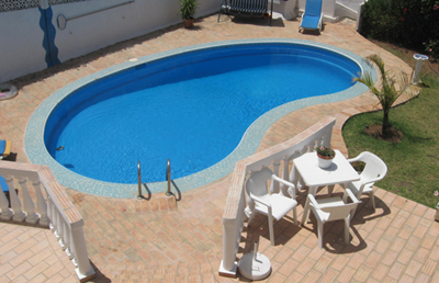 kolam renang modern