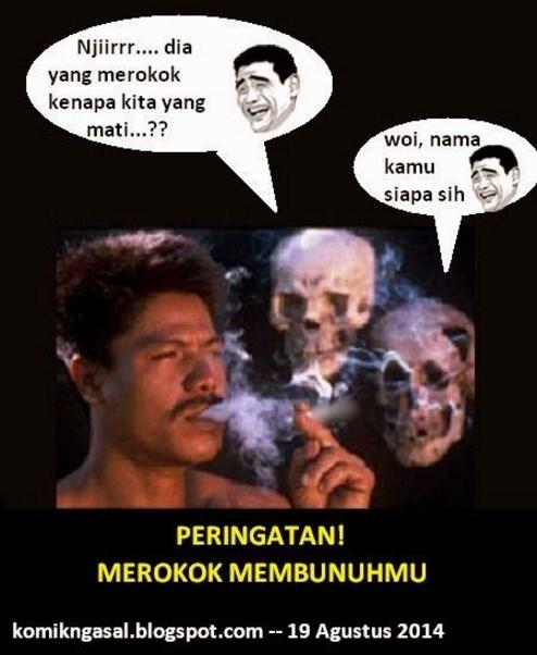 14 Meme Peringatan Merokok Ini Bukannya Ngeri Malah