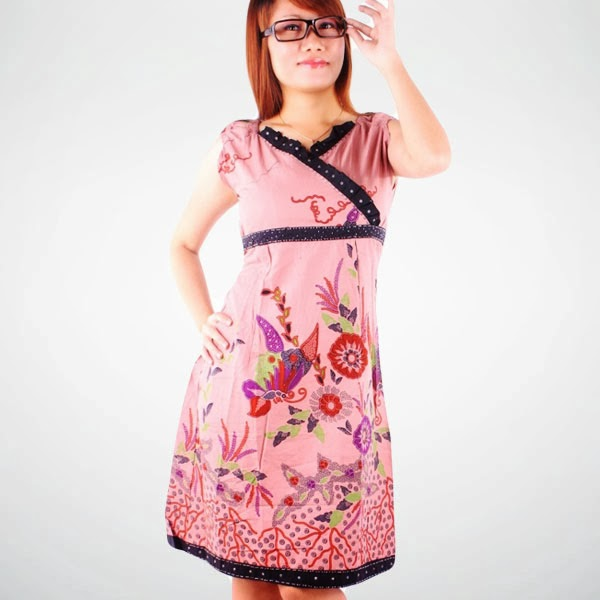 Trend Batik Kerja 2014: Kertas Dan Pena: Trend Fashion Baju Batik Wanita Tahun 2014