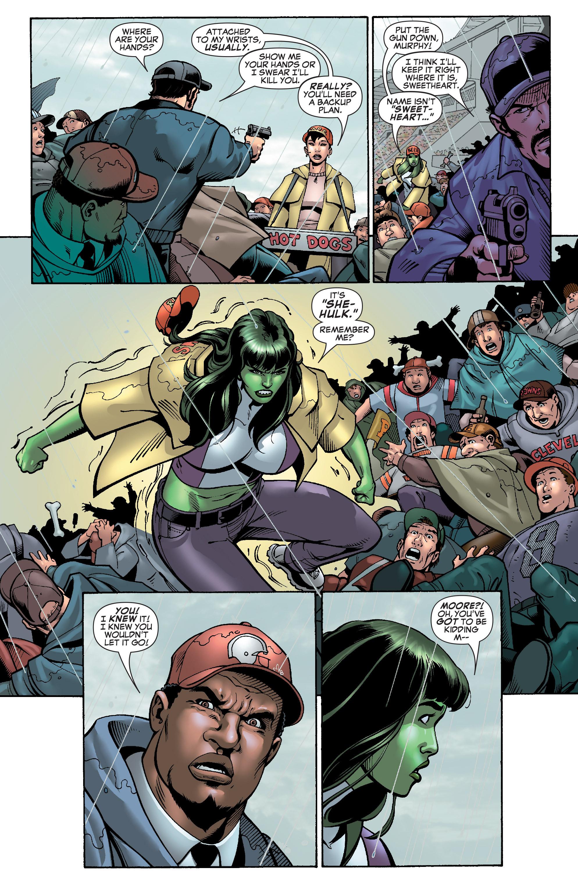 Read online She-Hulk (2005) comic -  Issue #28 - 13