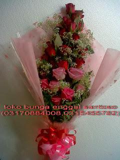bunga tangan ( fourhand ) mawar holland