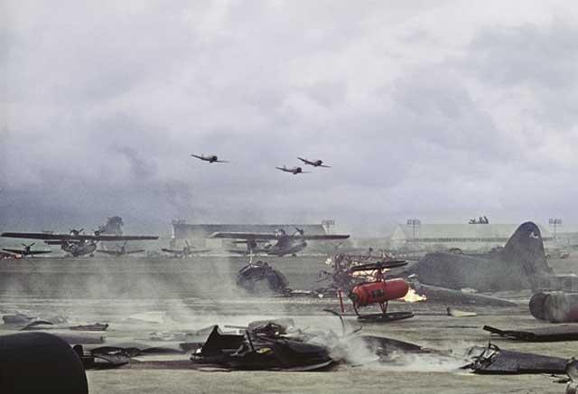 Attack on Pearl Harbor 7 December 1941 worldwartwo.filminspector.com