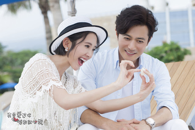 Jang Dong Gun and Tina Tang Yixin in a 2016 Chinese TV series