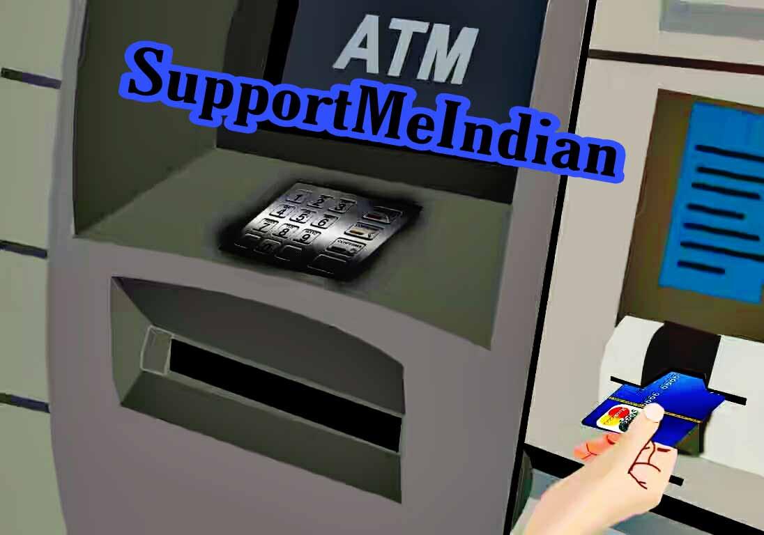 ATM me card kaise insert kare