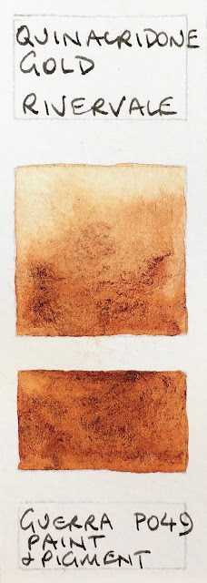 Jane Blundell Artist Quinacridone Gold Hues