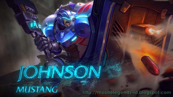Item Build Johnson Mobile Legends