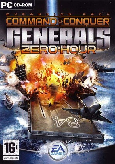 Command y Conquer Generals: Zero Hour PC Full Español