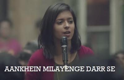 Aankhein Milayenge Darr Se Lyrics - Neerja