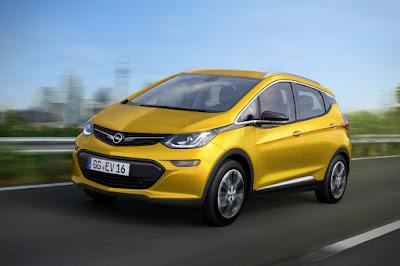 Το ηλεκτρικό Opel Ampera-e με μπαταρία αλλάζει τους κανόνες - Το 5θυρο, 5θέσιο Ampera-e υπερέχει σε αυτονομία από πολλά ηλεκτρικά οχήματα