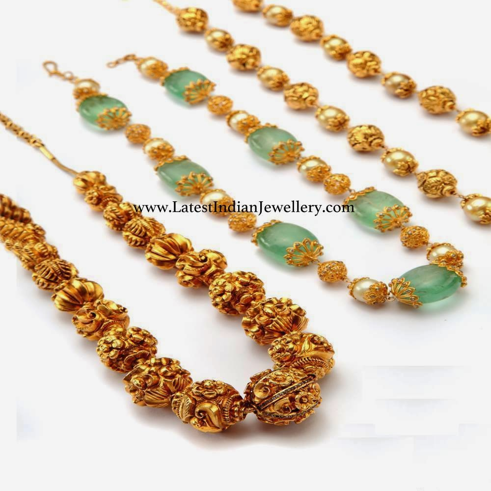 Different Beads Jewellery Designs