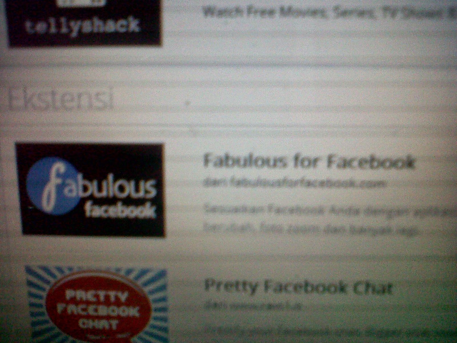 cara mengganti background facebook